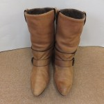 色褪せた靴でも当社に任せるとまた履けるようになります!!