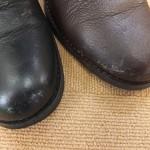 自宅で革靴の色はげを修復するには…