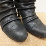 靴を綺麗にしてから仕舞いませんか?(^^)